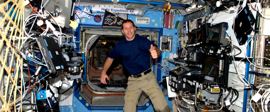 [REPLAY] 23/11 - Conférence de presse avec Thomas Pesquet depuis la Station spatiale internationale